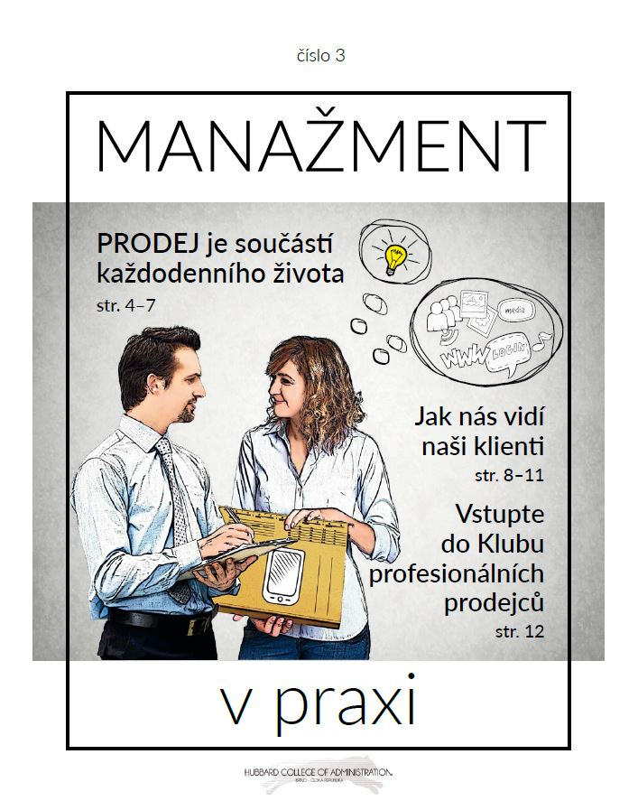 Časopis pro manažery a ředitele firem - HCA Czechia