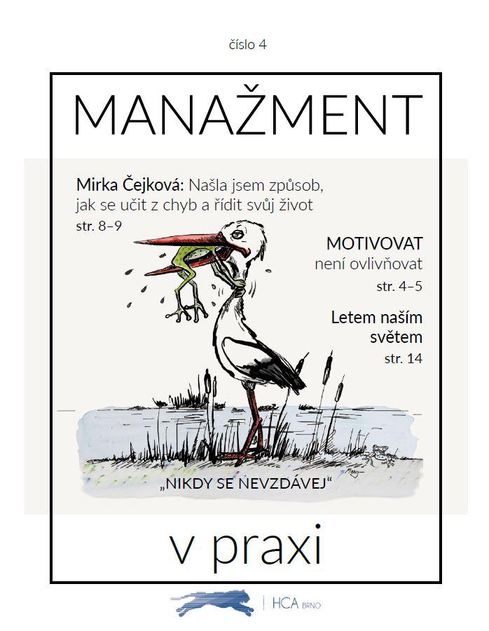 Časopis na téma MOTIVACE - od HCA Czechia