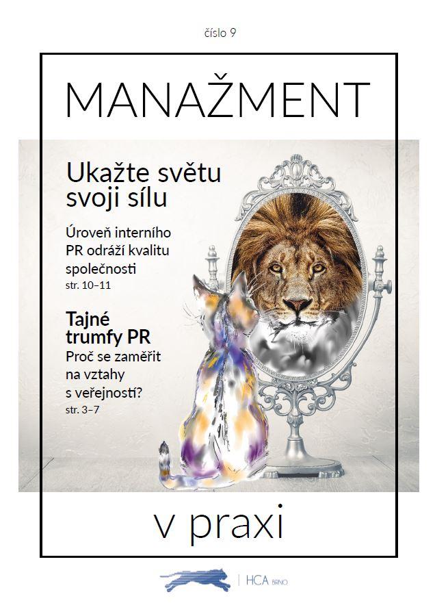 Časopis o PR pro firmy - HCA Czechia