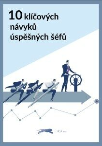 e-book HCA Czechia - 10 klíčových návyků úspěšných šéfů