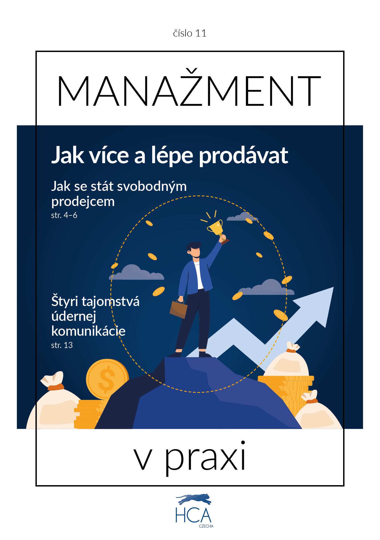 časopis zaměřený na business