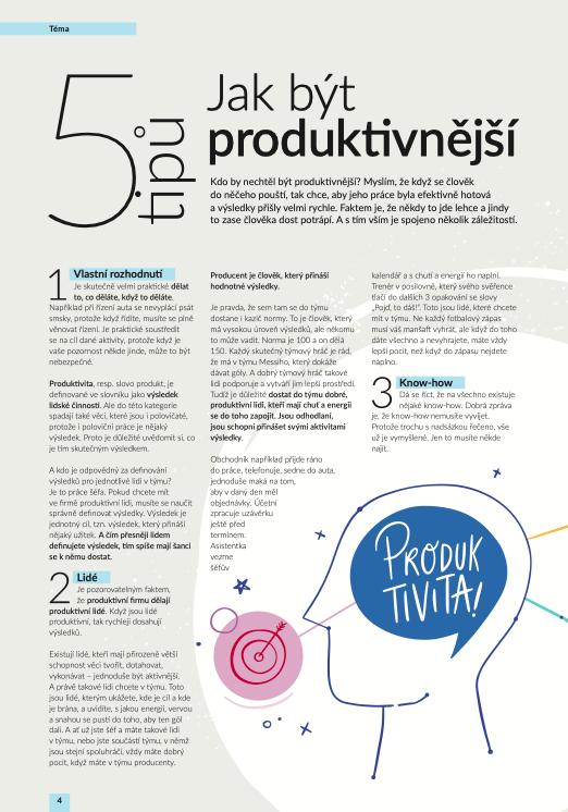 Jak být produktivnější - 5 tipů od HCA Czechia