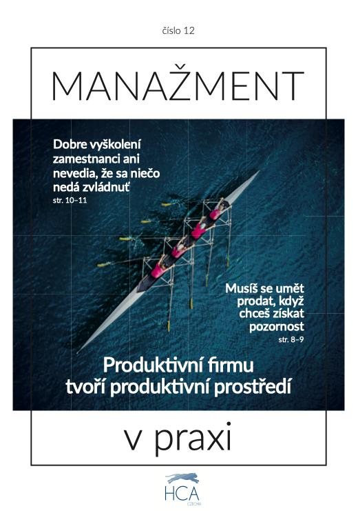 Firemní časopis HCA Czechia